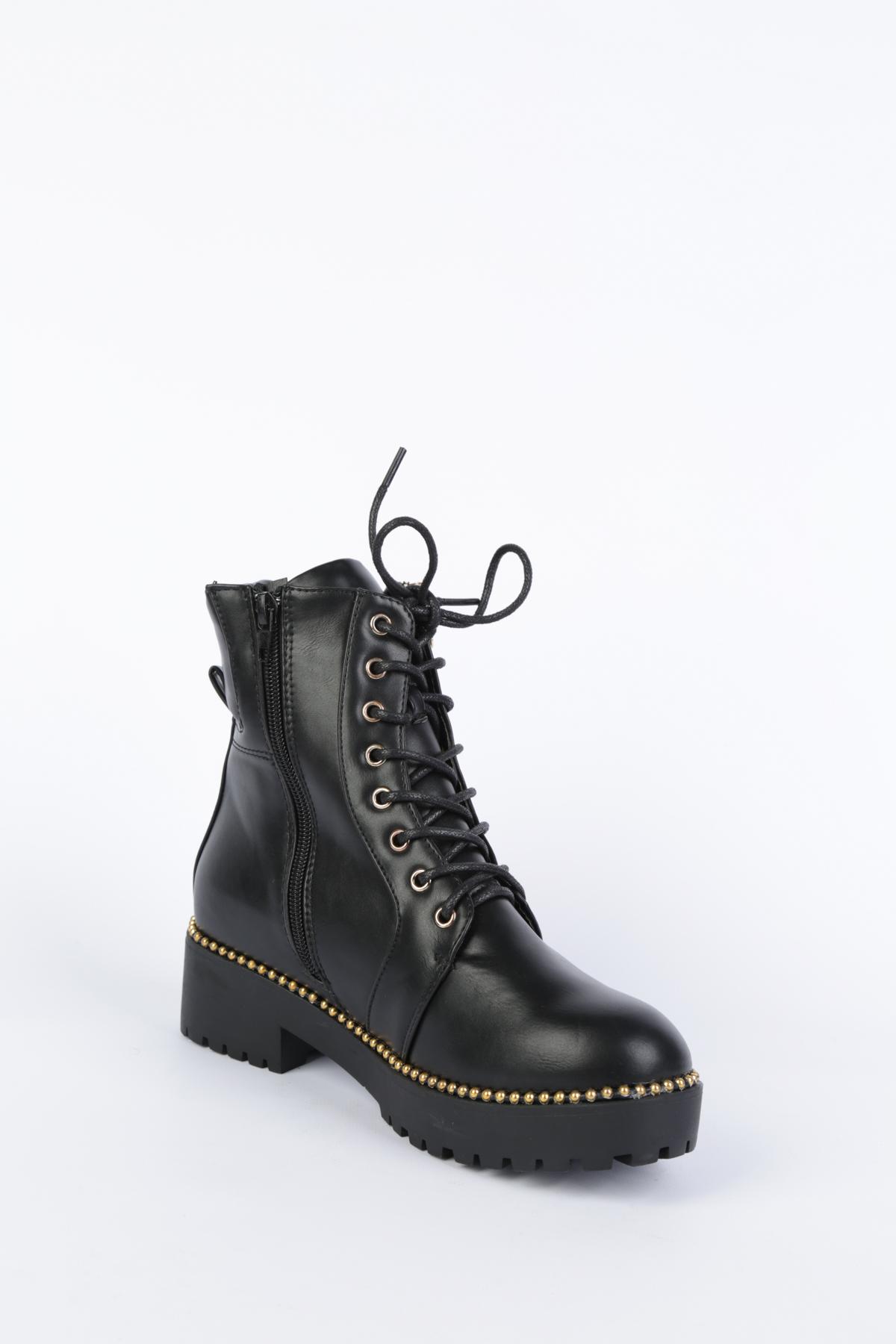 Bottines Chaussures Noir WILEDI 2018-9 #c eFashion Paris