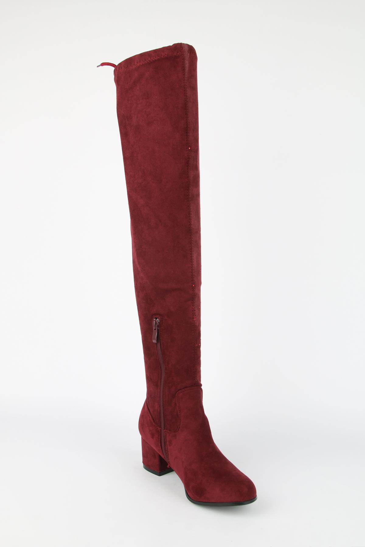 Bottes Chaussures Bordeaux WILEDI SO-23 #c eFashion Paris