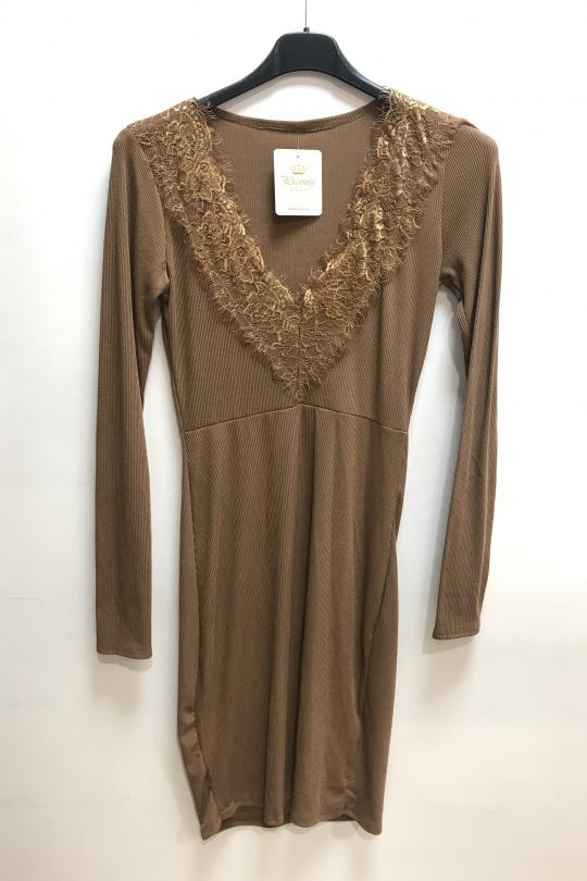 Robes courtes Femme Camel PROMISE 90426 eFashion Paris