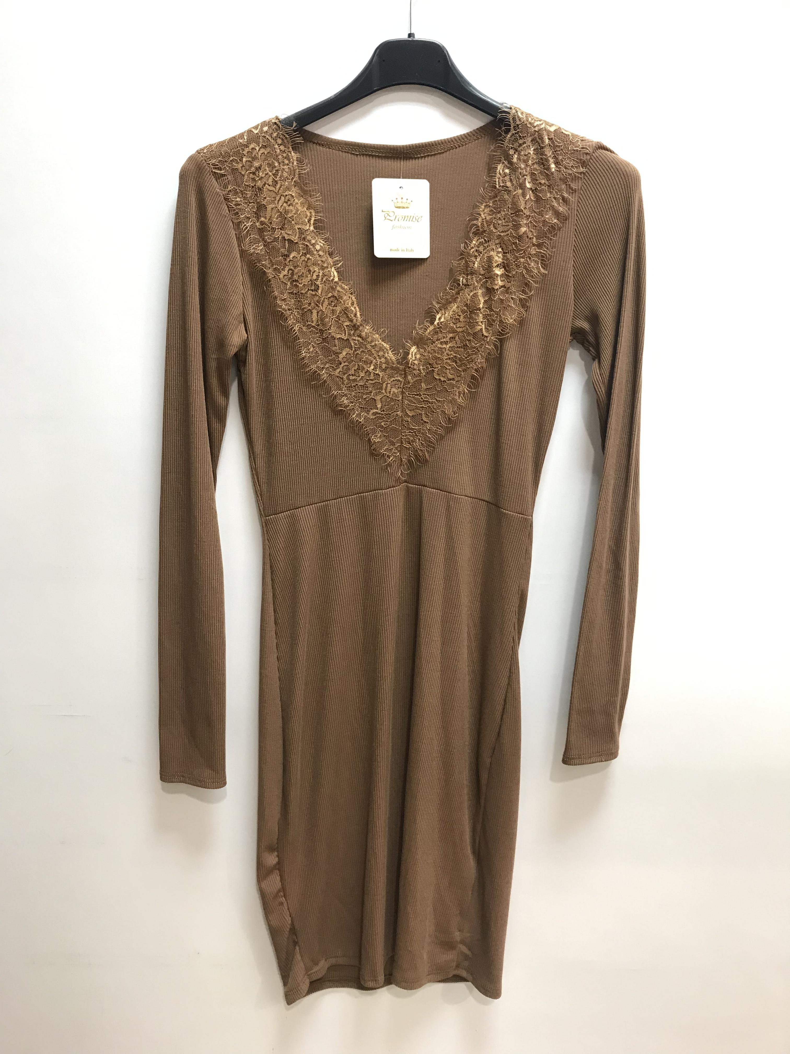 Robes courtes Femme Camel PROMISE 90426 #c eFashion Paris
