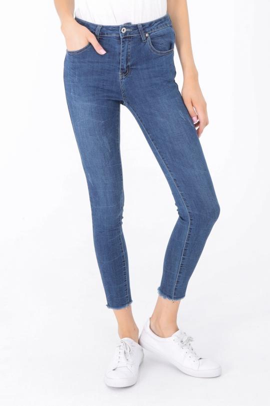 f6a89a54e3 Jeans Femme Bleu jean WE MOD A1076 #c eFashion Paris