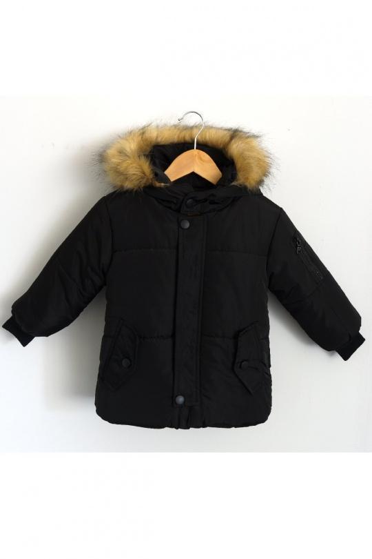Vêtements extérieurs Enfant Noir KAYENNE L-5007 eFashion Paris