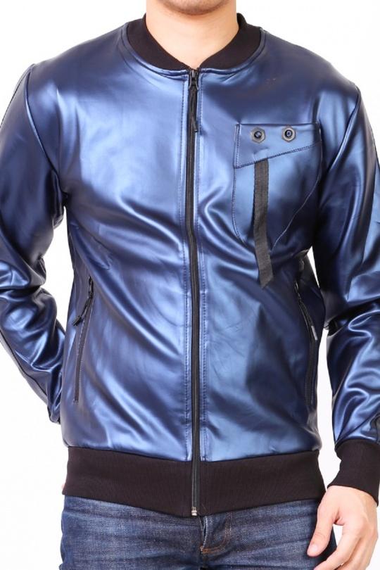 Vestes Homme Bleu marine KAYENNE VESTE ERG BM eFashion Paris