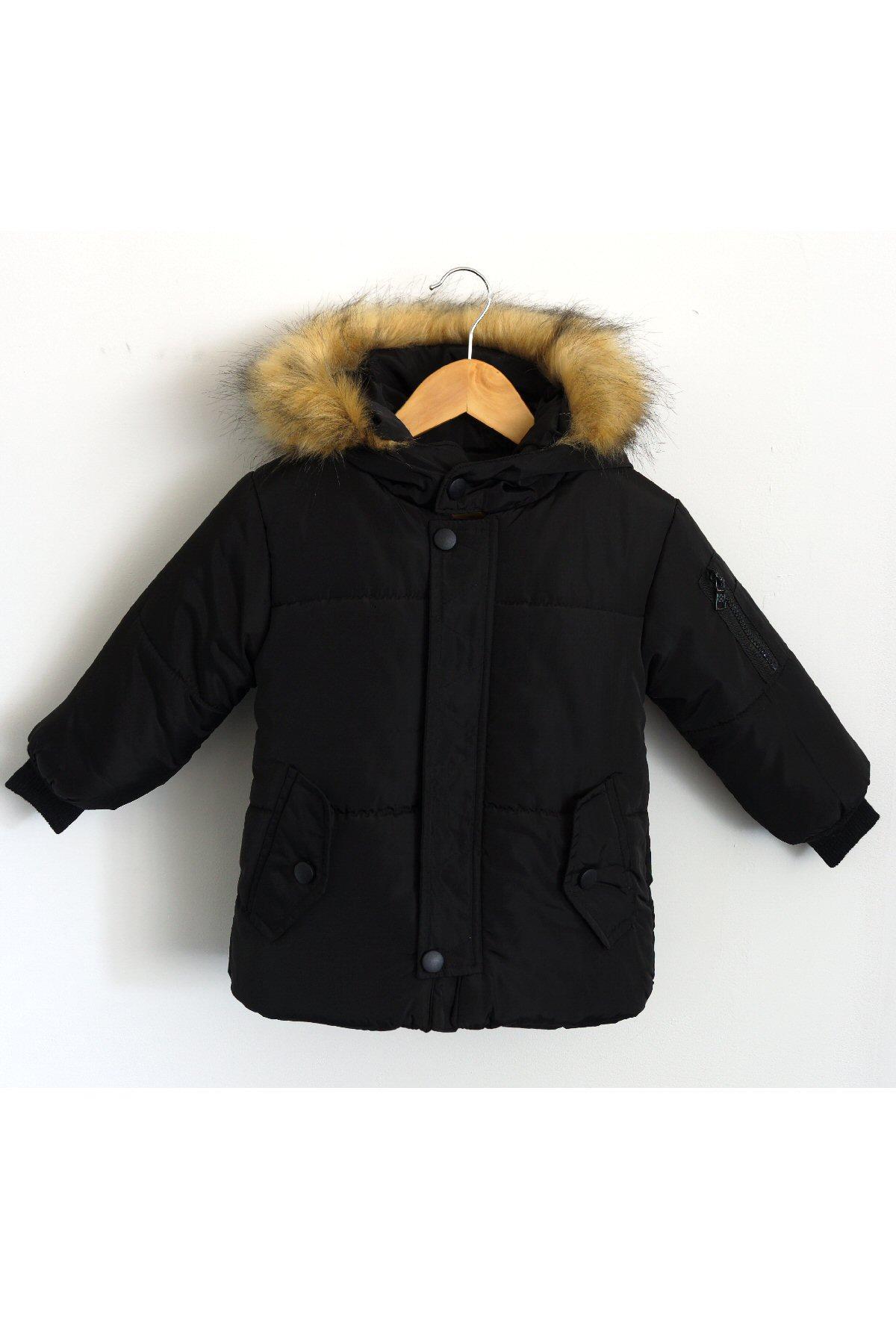 Vêtements extérieurs Enfant Noir KAYENNE L-5007 #c eFashion Paris