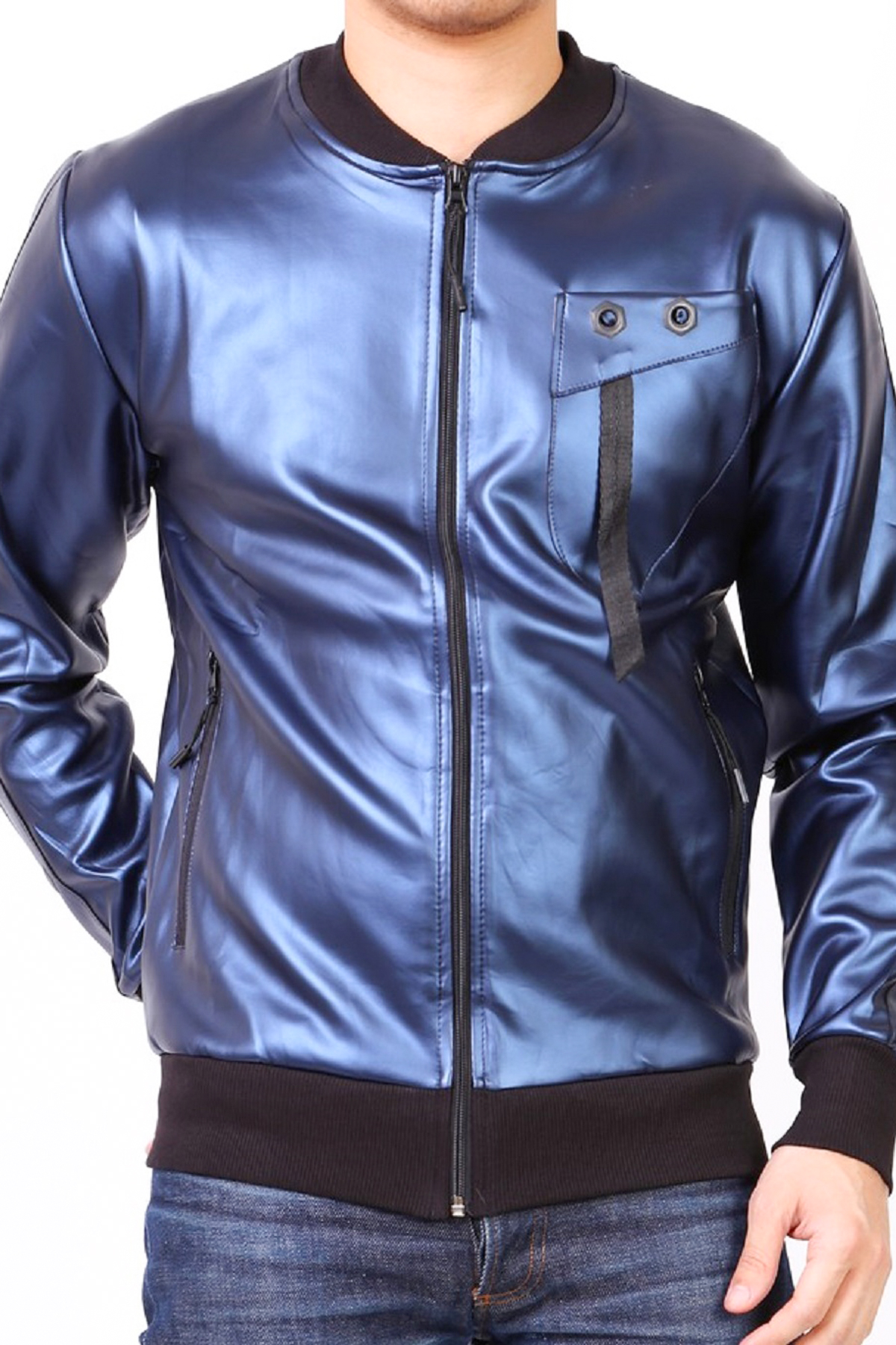 Vestes Homme Bleu marine KAYENNE VESTE ERG BM #c eFashion Paris