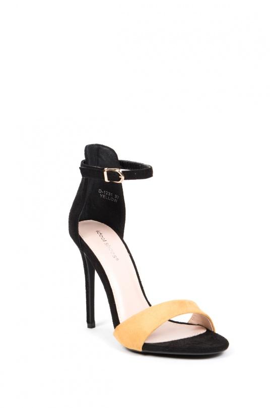 31f77443c141 High heels Shoes Yellow IDEAL SHOES - MARQUIIZ D-1231  c eFashion Paris
