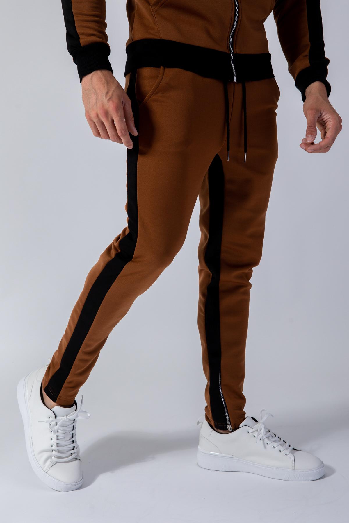 Pantalons Homme Camel FRILIVIN 1554 #c eFashion Paris
