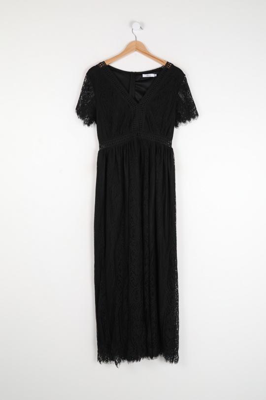 Robes longues Femme Noir COPPEROSE MP5100 eFashion Paris