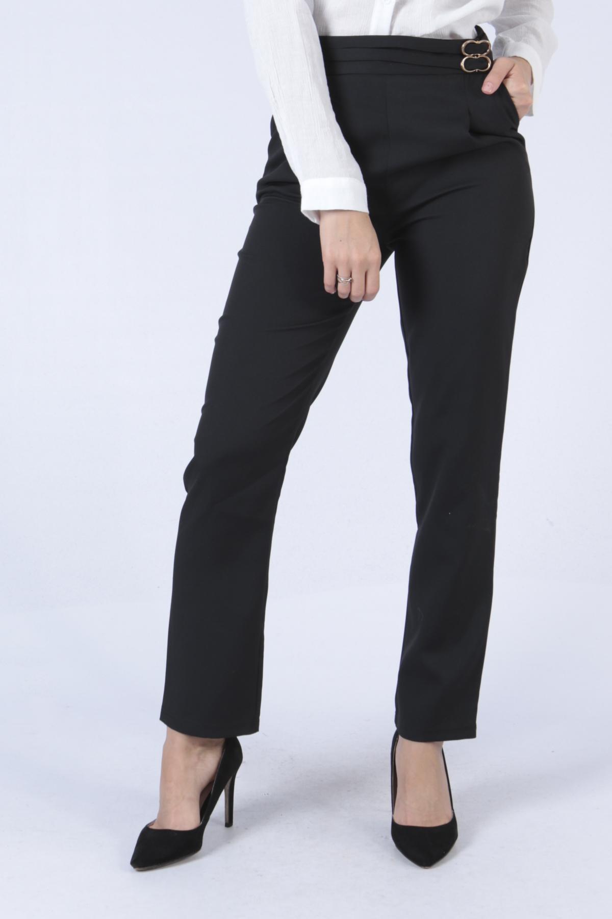 Pantalons Femme 8013-NOIR Sophyline