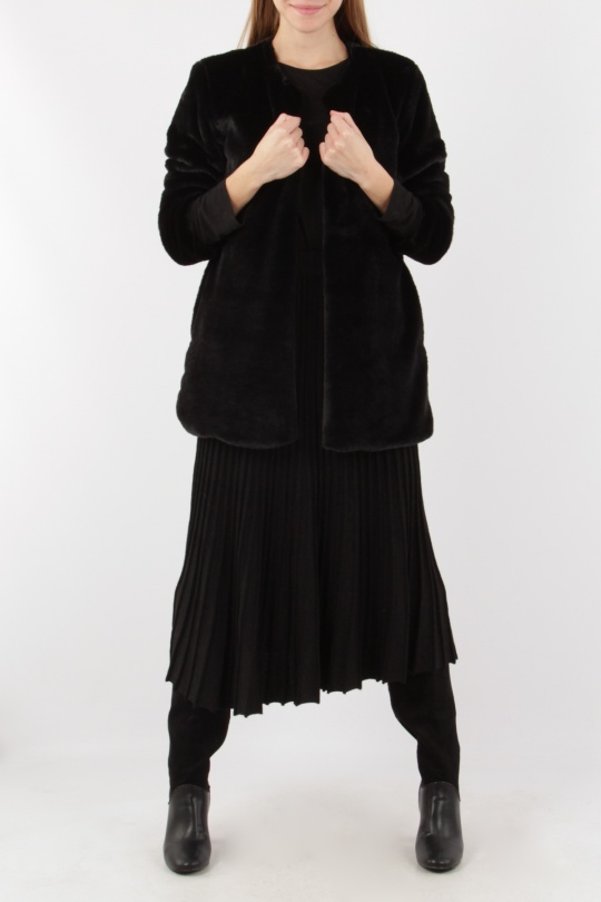 Black c Efashion Paris Hycke 9810b Mujer Abrigos zI5qpU