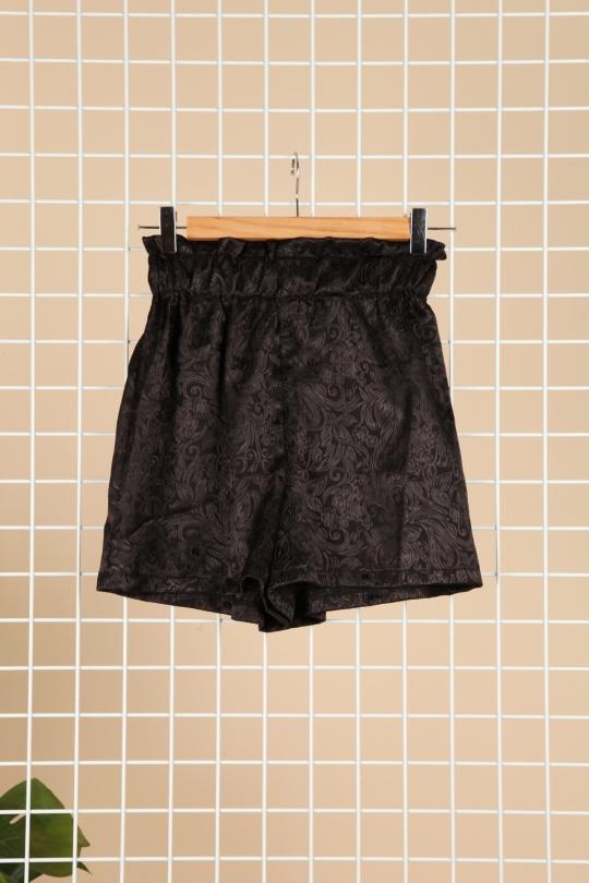 Shorts Femme Noir Luc-ce 4498 eFashion Paris