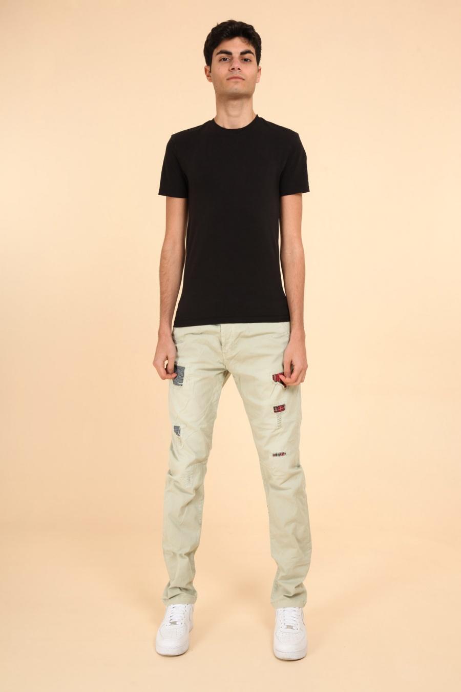 Pantalons Homme Vert ROY LYS RK929 #c eFashion Paris