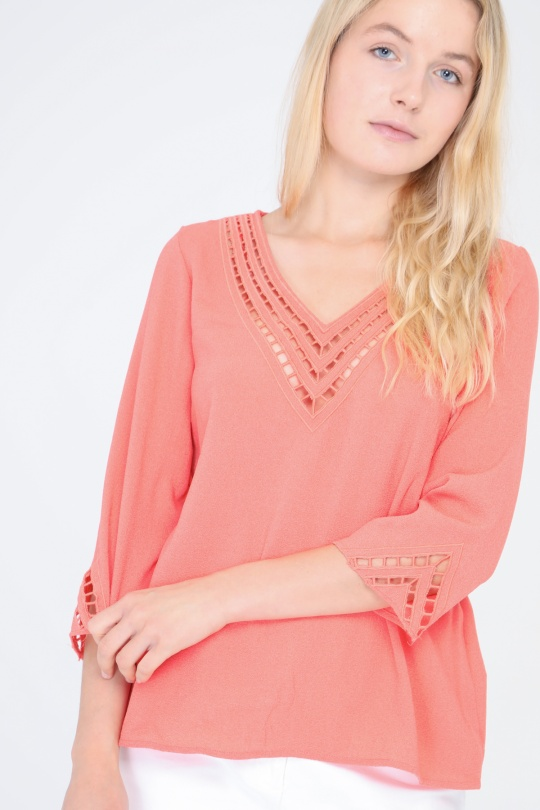 Blouses Femme Corail SWEEWE 31595 eFashion Paris