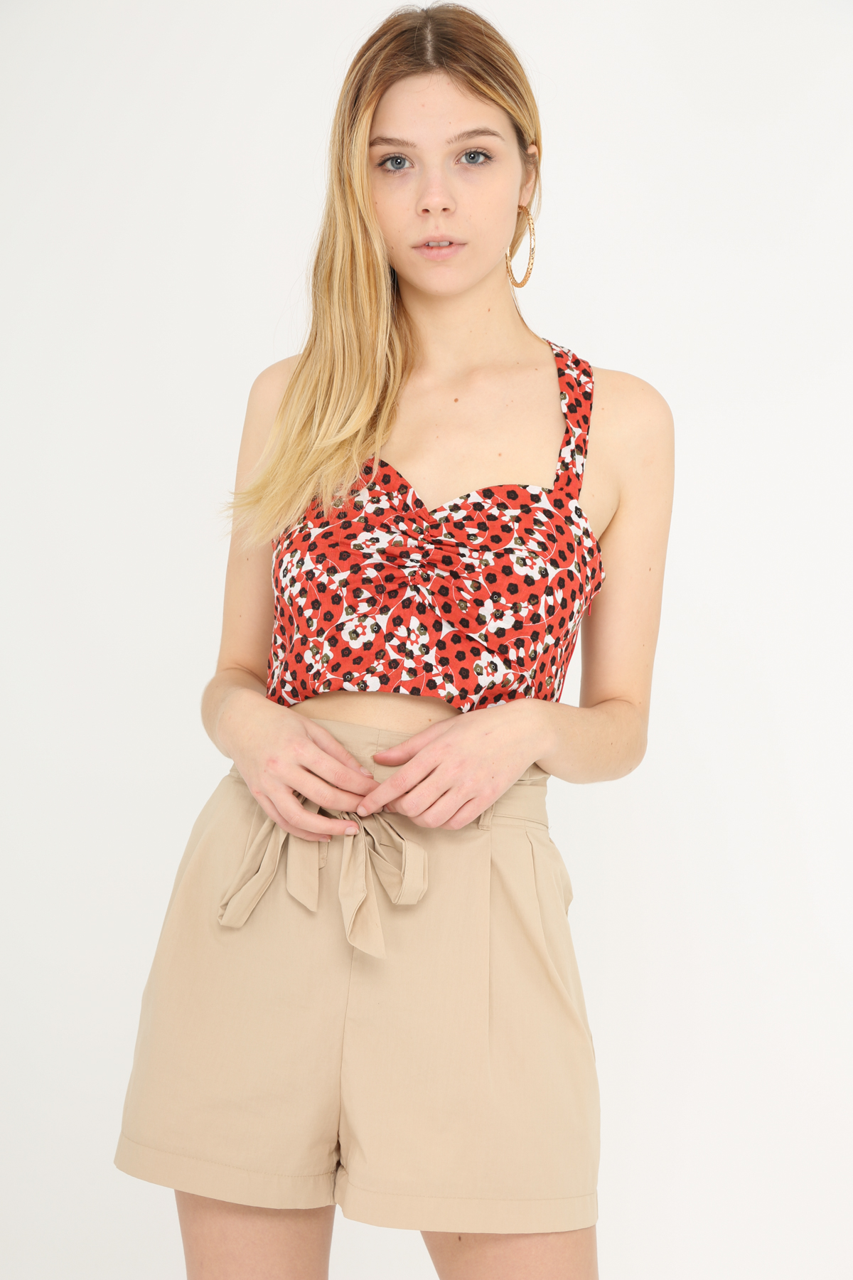 Tops Femme Rouge SWEEWE 37088 #c eFashion Paris