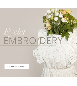 Eyelet embroidery